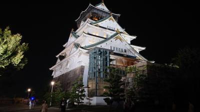 2019年大阪の旅5目後編(大阪城)
