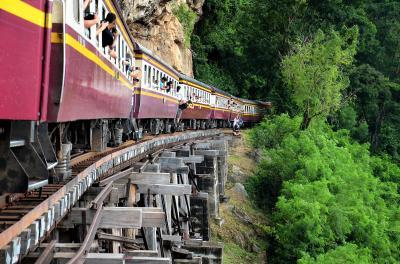 カンチャナブリに行ってみた アメージング・タイの真骨頂 現役の産業遺産「アルヒル桟道橋」を歩いてみた オッサンネコの一人旅