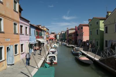 イタリア旅行記⑤ ベネチア2日目(ムラーノ島、ブラーノ島、ベネチア散策)