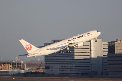 羽田空港撮影記録。国際線ターミナル展望デッキにて。