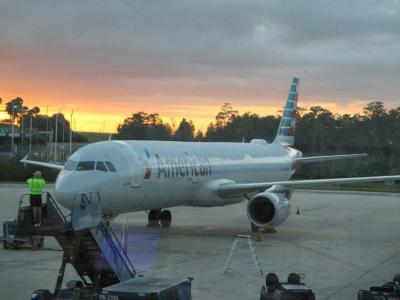 2019年 JL7297(AA1024)オーランド(MCO)-ダラス・フォートワース(DFW)A321-200搭乗記