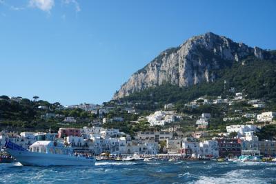 MSCシンフォニア:アドレア海クルーズ&イタリア旅行 ~カプリ島~