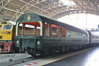 167. マレー鉄道で バンコク~ペナン~クアラ Day 2 + 3 バンコクだらだら観光 & 寝台列車で南下