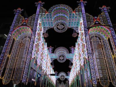 2019年12月 神戸ルミナリエふたたび ひとり旅