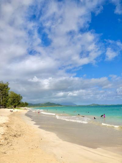 初めての海外一人旅ハワイ④ラニカイビーチ