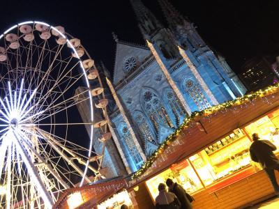 ドイツ黒い森地方と美しきアルザス地方7つのクリスマスマーケット6日間 1日目 成田~チューリッヒ~ミュールーズ