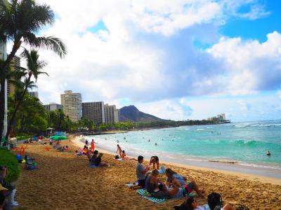 初めてのハワイ「JALで行くワイキキ6日間」part⑤ 5日目『ホノルル発セントレア着帰国』(*_*)