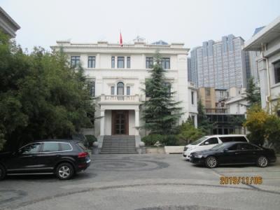 天津の五大道重慶道4・英国租界・歴史風貌建築