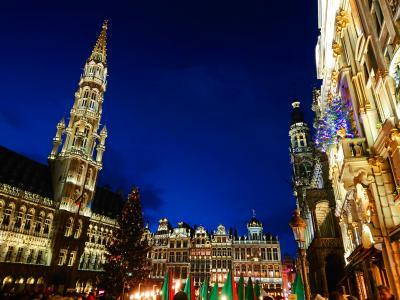 ☆初ヨーロッパ☆弾丸ベルギーでクリスマスとチョコを楽しむひとり旅4日間~ブリュッセル編~No.2
