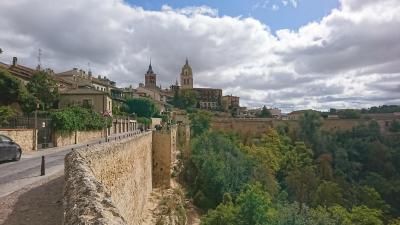 マドリッドの周辺にちらばる城塞都市をまわった。 6.セゴビア、アルカサル他