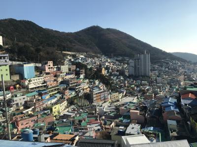 家族で韓国、初めての釜山へ