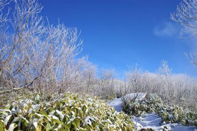 飯縄山へ雪山登山と鏡池~戸隠神社ハイキング