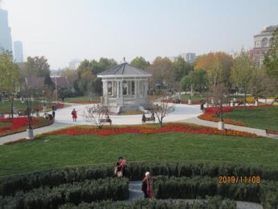 天津の花園路・中心公園・全面改修完成