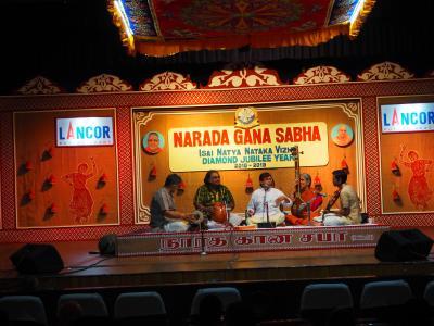 南インド古典音楽三昧