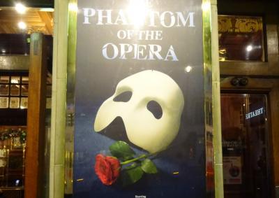 「オペラ座の怪人」ファントムに逢いに!ロンドン&日帰りパリ一人旅⑤~後編~