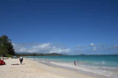 初めての海外一人旅ハワイ④カイルアビーチ