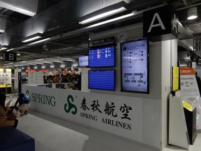 初めての中国大陸 上海0泊3日弾丸1人旅 その1 上海浦東空港に到着