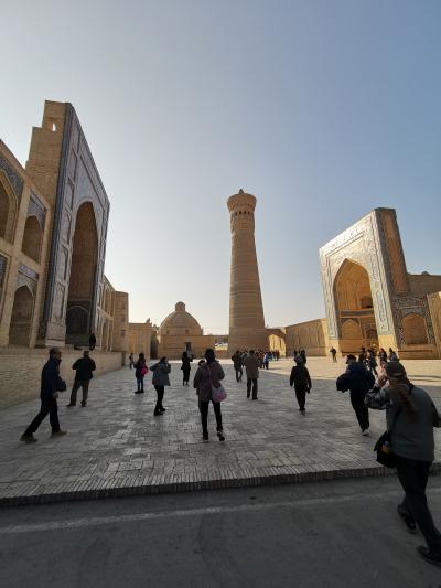 ウズベキスタン2019・・・(5)中世の聖都ブハラ 歴代君主の居城「アルク城」とブハラのシンボル「カリャン・ミナレット」