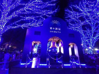 '19 渋谷青の洞窟&表参道ヒルズのクリスマスツリー