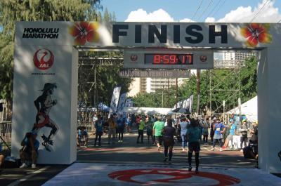再訪 ハワイ諸島&ホノルルマラソンの旅 2019.12.3~10 マラソン 編