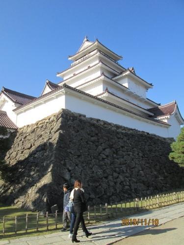会津若松市・鶴ヶ城・天主閣