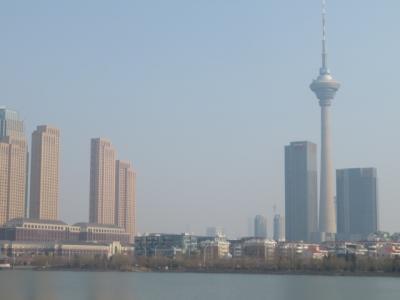 中国 「行った所・見た所」 天津の天塔(天津テレビ塔)に上りました