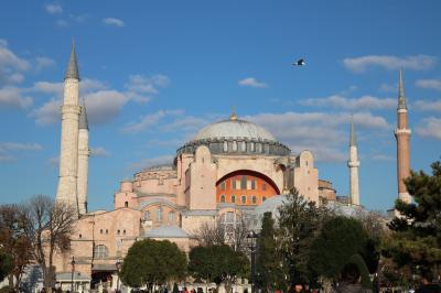 夫65歳退職のご褒美に、飛んだよ、トルコ周遊10日間(2・イスタンブール着)