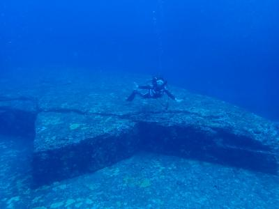 海底遺跡とハンマー狙い