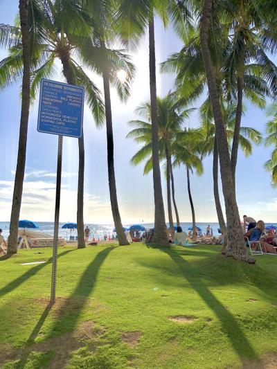 初の海外一人旅 ワイキキビーチ⑤