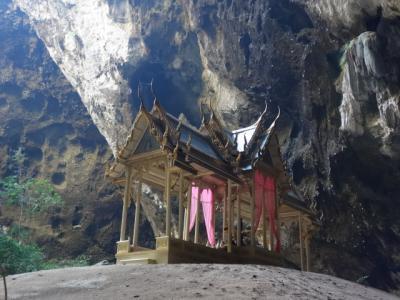 2019 父子2人旅 ~ ホアヒンから南へ50km ~ 洞窟内にあるクーハーカルハット宮殿に行ってきた ~ よかったー!~