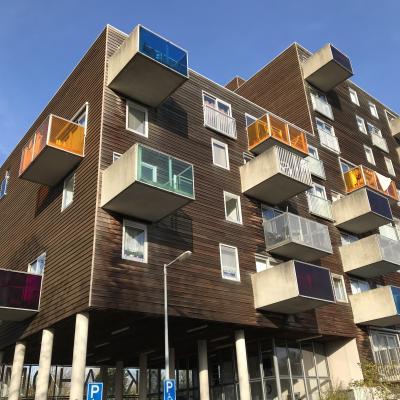 ロンドン ロッテルダム アムステルダム 建築をめぐる1人旅 -6日目- アムステルダムのダッチデザインにわくわくする日