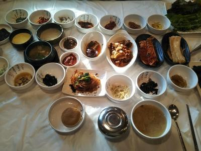 195回目訪韓(2020/1/10金~13月)は釜山、浮石寺(栄州)、慶州へ⑧/⑫東宮と月池~瞻星台~李豊女クロサンパッで食事