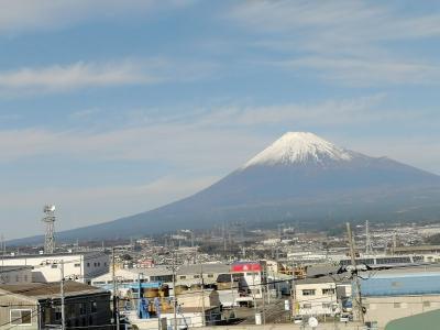 富士山を見てから今年最後の訪韓