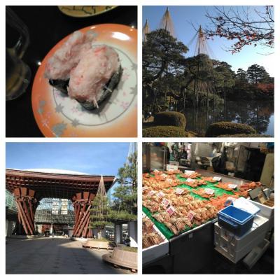 初めての金沢へ~その2★兼六園で心を静め、ひがし茶屋街で風情に浸り、近江市場で舌鼓を打つ★