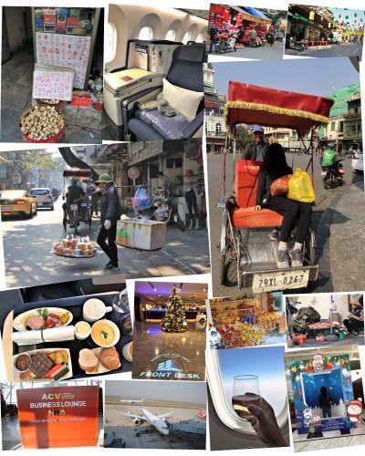 ベトナムの世界遺産『ハロン湾』『タンロン遺跡』『チャンアンの景観複合体』を巡る旅:その⑥ハノイから帰国、帰りはANAのビジネスで!
