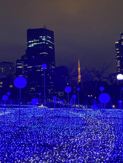 2019,12月21日 東京ミッドタウン クリスマスイルミネーション