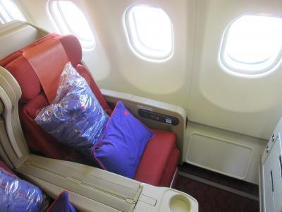 香港航空ビジネスクラス 成田から香港