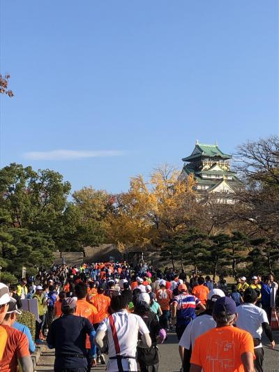新しいコースになった大阪マラソンを走りました(2019年12月)