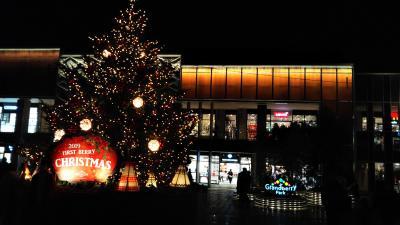 夜の南町田グランベリーパークを徘徊する☆