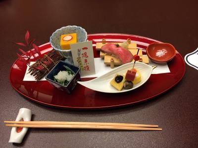 名古屋駅 ミッドランド41階 今半さんで 忘年食事会