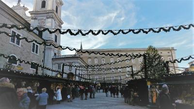 2019年母娘で行くドイツ・オーストリアのクリスマスマーケット②(ザルツブルク編)