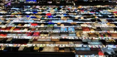 2019秋◆微妙な時期に行くタイ・クラビ&バンコク9日間の旅◆Day6バンコク【ラチャダー鉄道市場】