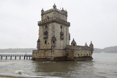 夏旅スペイン、最後にリスボン・ベレンの塔と発見のモニュメント
