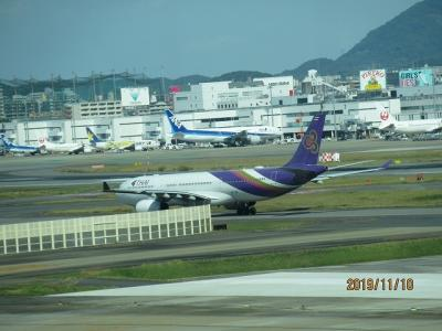 兄弟で初のタイ旅行-1(福岡→台湾)