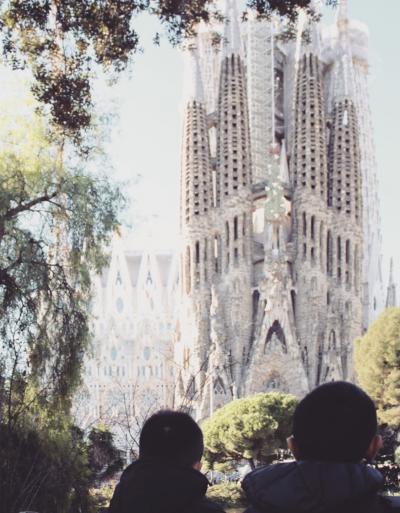 旅の途中 バルセロナ旅人6人衆①
