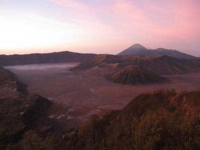 インドネシア ジャワ島 ブロモ山(プナンジャカン)