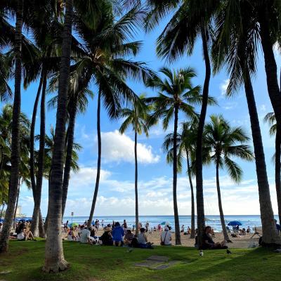 初ハワイは3泊5日の激安ツアー 母と娘の女子旅①
