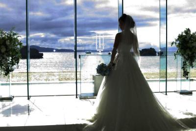 リゾートウェディングに招かれた沖縄 二泊三日の二日目/結婚式当日