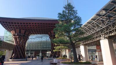 金沢でグルメ旅をしようと1泊2日の母娘旅行 1日目