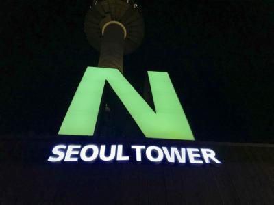 韓国ひとり旅(6)ソウルライトアップめぐり
